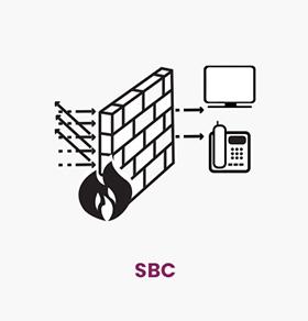 SBC چکاوک یک المان حفاظتی و امنیتی در شبکه های VoIP است. حساسیت و اهمیت سرویس های تلفنی مبتنی بر IP وجود  SBC را ملزم مینماید.