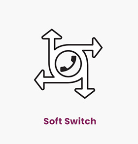 از سافت سوئیچ شرکت ارتباطات هوشمند چکاوک برای کنترل تماس، سیگنالینگ و پردازش جریانهای رسانهای از آن استفاده میشود.